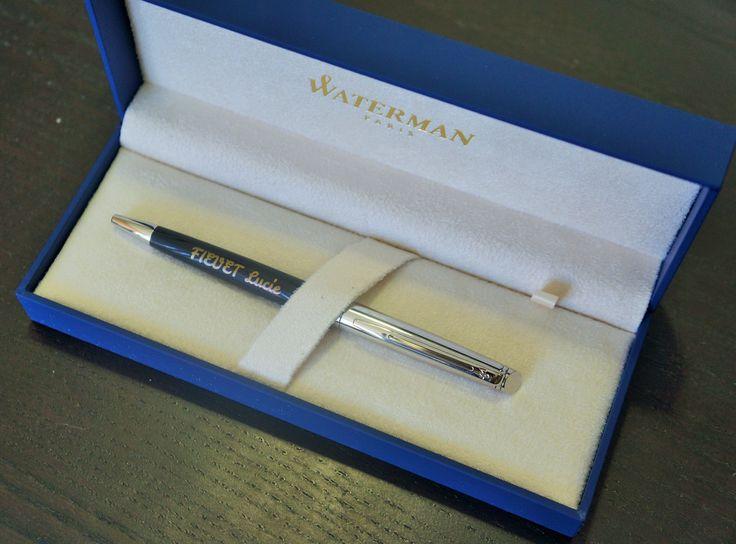 Magnifique stylo #Waterman dans son coffret cadeau