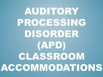 for students ages        who exhibit auditory processing disorders or other  related disorders   Therapy In A Bin