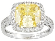 jtv.com Bella Luce ring yellow!!: Canary Diamonds, Luce Ring, Sterling Silver Rings, Bling Things, Bella Luce R