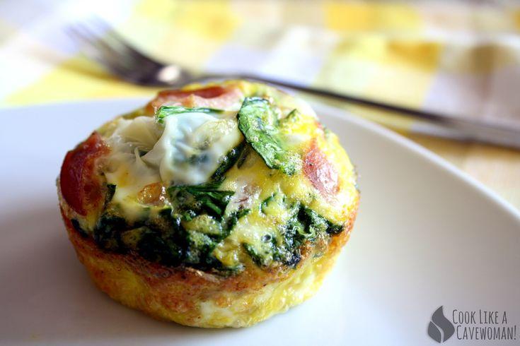 Grab-n-Go Egg Muffins | Paleo whole30