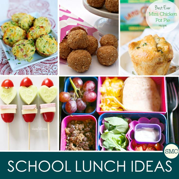 One whole month of school lunch ideas - so we never have to eat the same thing over and over again!