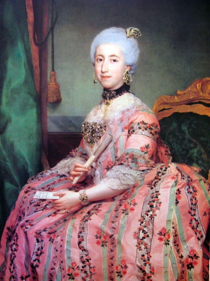 Maria Francisca Pignatelli and Gonzaga, Duchess of Medinaceli, by Anton Raphael Mengs (1728–1779)
