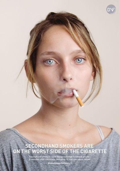 DNF (Non-smoking association): Worst side