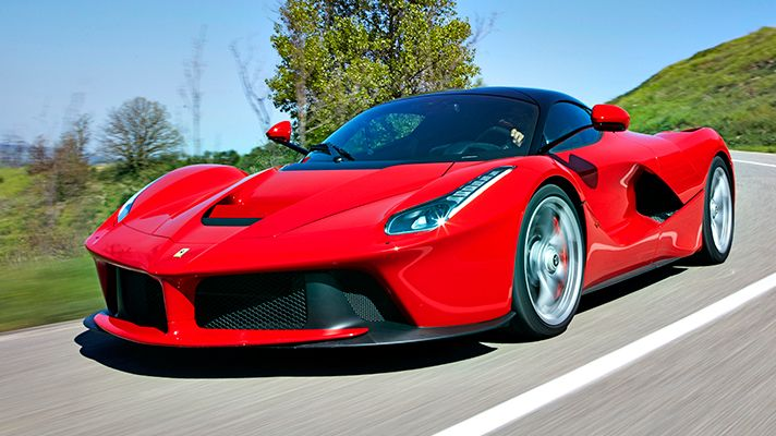 LaFerrari, the 950bhp hyper-hybrid son of Enzo.