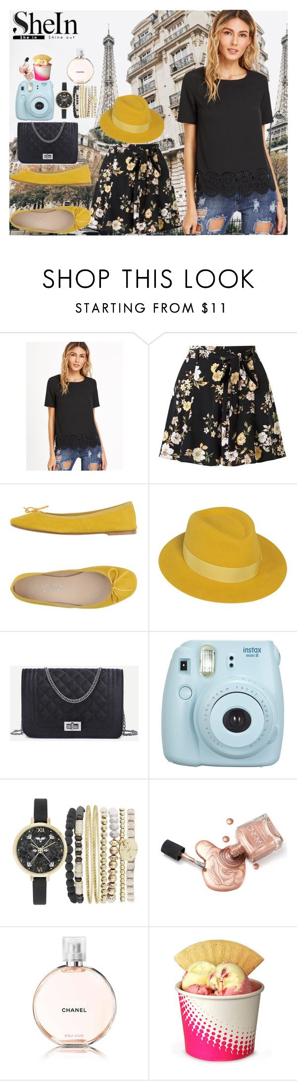 """Untitled #375"" by kat-van-d ❤ liked on Polyvore featuring Miss Selfridge, Cantarelli, Maison Michel, Fujifilm, Jessica Carlyle, Chanel and shein"