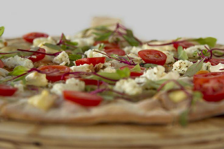 Tomato and Feta Pizza Rossa CRAFT Restaurant Parkhurst