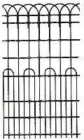 """Woven Wire Mesh, GBW, 11/13 gauge, Ornamental fence, 48""""x100'"""