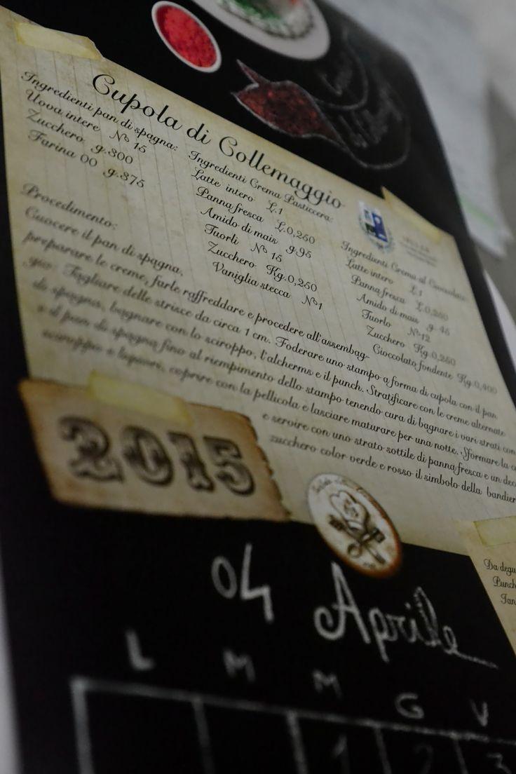 """Una pagina dallo splendido #Calendario #2015 dell'Associazione, che raccoglie le #ricette dei #dolci tradizionali abruzzesi  Cena annuale dell'Ass. """"Custode della Tradizione"""" 2014   #Lanciano #ristorante #aivecchisapori #Abruzzo #VillaSantaMaria"""