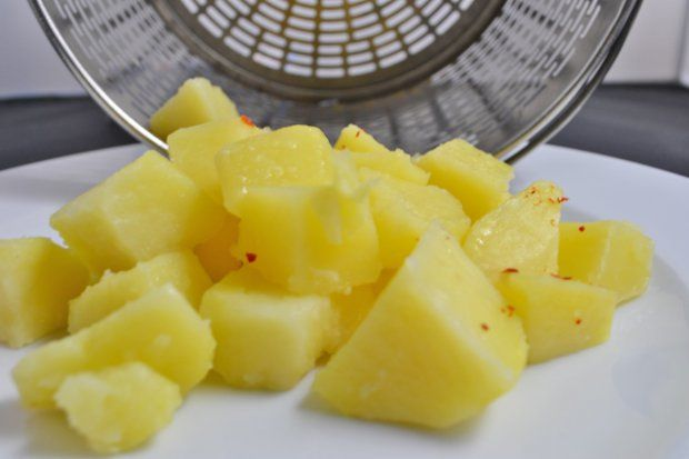 Kartoffeln aus dem Dampfgarer