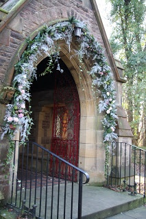 22 Best A Welcoming Entrance Church Wedding Decorations Images On Pinterest