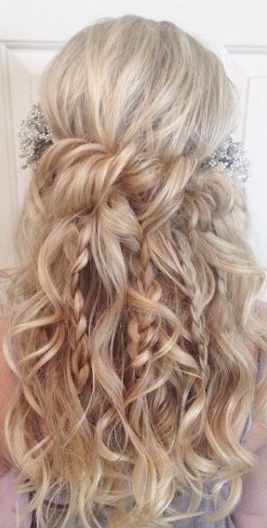 Featured Hairstyle: Heidi Marie (Garrett) Villa - Hair and Makeup Girl; Wedding hairstyle idea.  #RePin by AT Social Media Marketing - Pinterest Marketing Specialists ATSocialMedia.co.uk