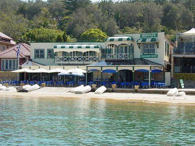Magical Sydney. Doyle's restaurant at Watsons Bay.