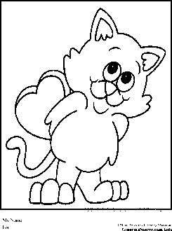 Cat ice cream coloring pages ~ 1000+ images about Coloring Pages on Pinterest | Ice cream ...