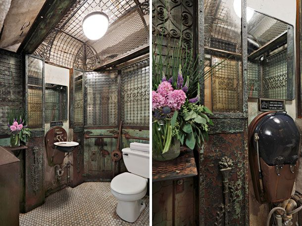 Slide Show | 11 Awesome, Occasionally Bizarre Restaurant And Bar Bathrooms  In NYC | Serious