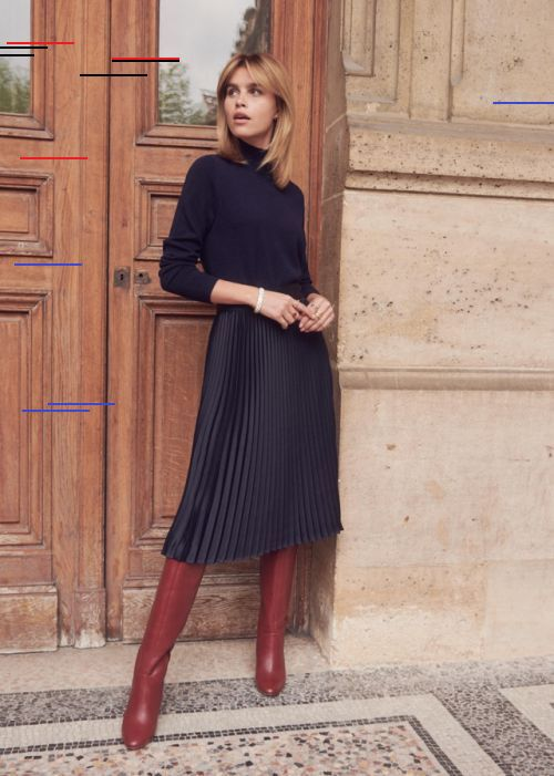 25 Holiday Outfits For Every Girl S Style In 2020 Fashion Midi Skirt Winter Style