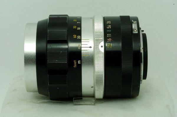 Lensa Manual Nikon Nikkor Q Auto 135 mm f/ 3.5 Nippon Kogaku.,,Antik Mulus Terawat
