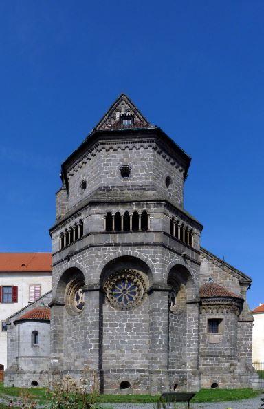 St. Procopius Basilica in Třebíč, Czechia.. #romanesque #gothic #church #monastery #unesco #czechia