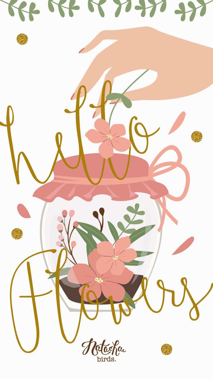 Le printemps est là avec l'arrivée des beaux jours. C'est l'occasion de mettre des fleurs un petit peu partout, dans les cheveux, dans les vases, dans son iPhone, sur son ordinateur et sur son iPad ! Je vous souhaite un bon début de mois d'Avril (même si je suis un petit peu en avance), merci …