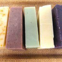 Ručně vyráběná mýdla - sada 5 ks