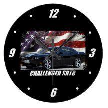 2011 Challenger SRT8 Large Clock