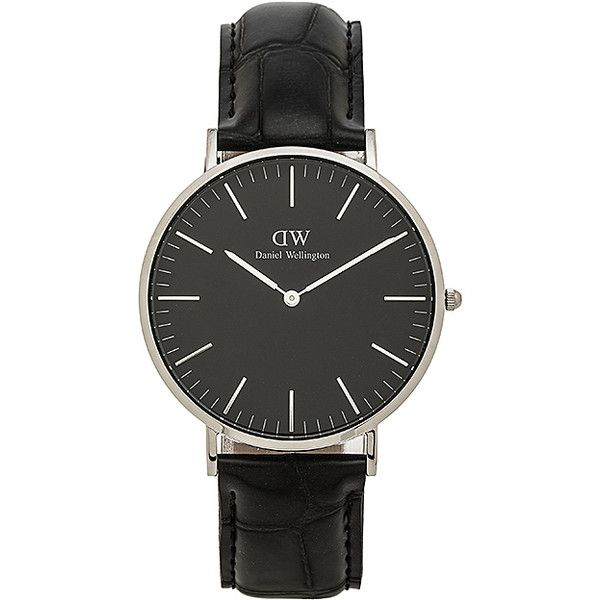 Daniel Wellington Classic Reading 40mm (3.047.010 IDR) ❤ liked on Polyvore featuring jewelry, watches, stainless steel jewelry, stainless steel jewellery, stainless steel wrist watch, daniel wellington and water resistant watches