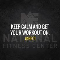 #teamNFC #WitnessMyFitness National Fitness Center in East Tennessee