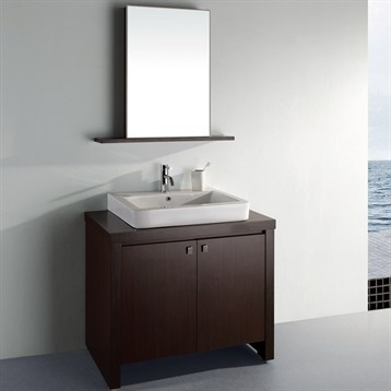 love this cabinet and the sink combo inspiration for my