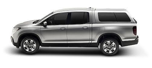 Motor'n   A.R.E. Offers Truck Cap and Tonneau for 2017 Honda Ridgeline