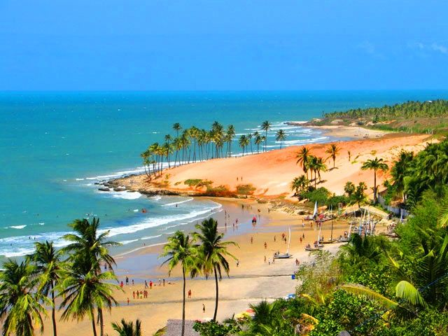 Fortaleza, Brazil  My friend said this place was beautiful