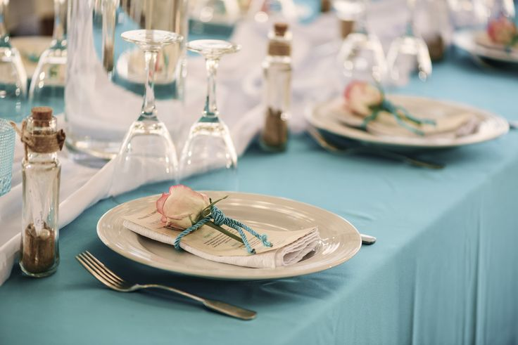 #wedding #dinner #sea #beach #flower #menu #table