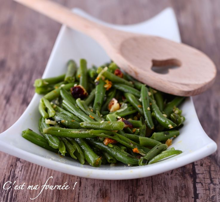C'est ma fournée !: La salade d'haricots verts d'Ottolenghi