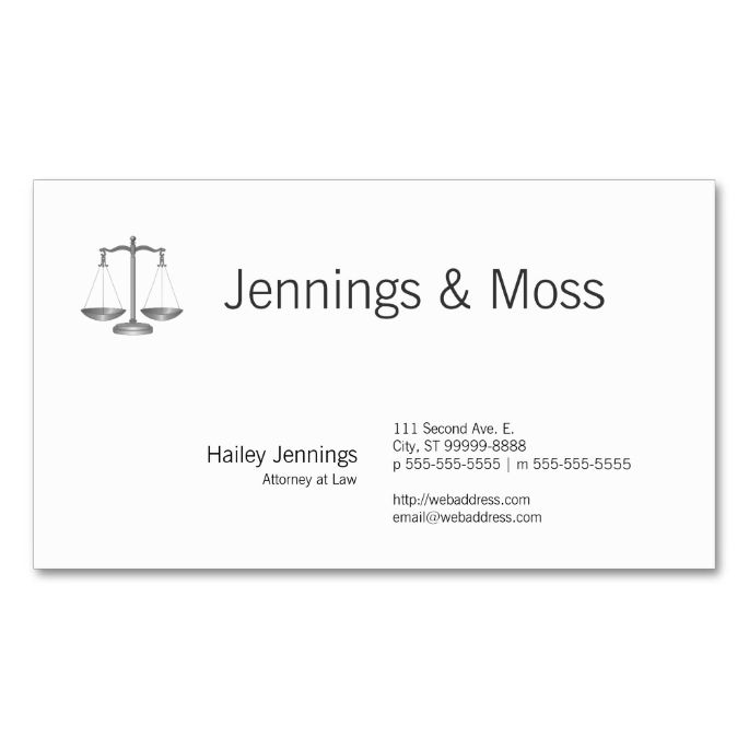 2215 best Attorney Lawyer Business Cards images on Pinterest