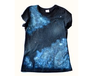 Galaxy hand-painted t-shirt