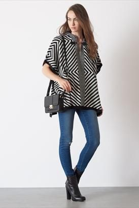 This poncho is one of our fall favorites!