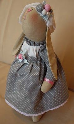 Rabbit doll pattern
