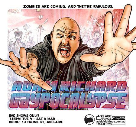 Adam Richard - Gaypocalypse! At the Fringe in March #adlfringe #adelaide #gaypocalypse