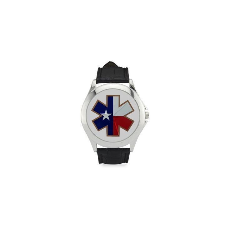 Birthday Gifts Star of Life Texas State Flag with Iron Plate Women's Classic Leather Strap Watch ** Unbelievable  item right here! : Travel Gadgets