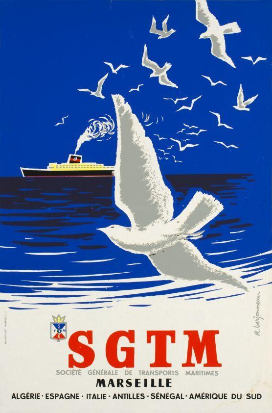 SGTM (Société générale de transports maritimes), Marseille