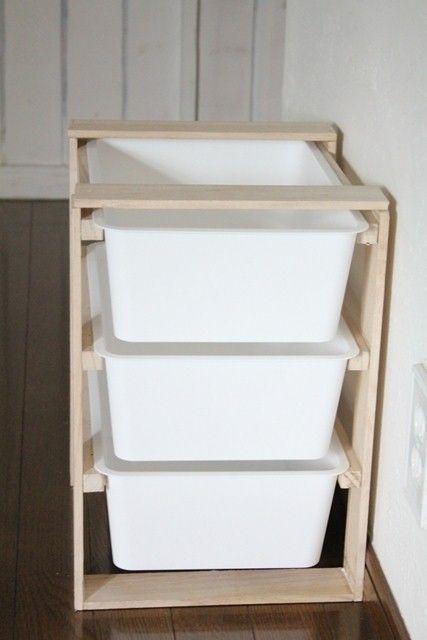 洗面台収納*「はじめてのスノコDIY!」プラス100均商品で空間を有効活用!|LIMIA (リミア)