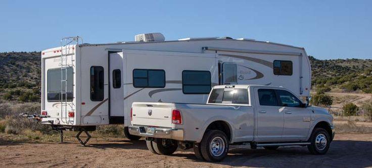 2016 Ram 3500 dually and 36' fifth wheel trailer RV