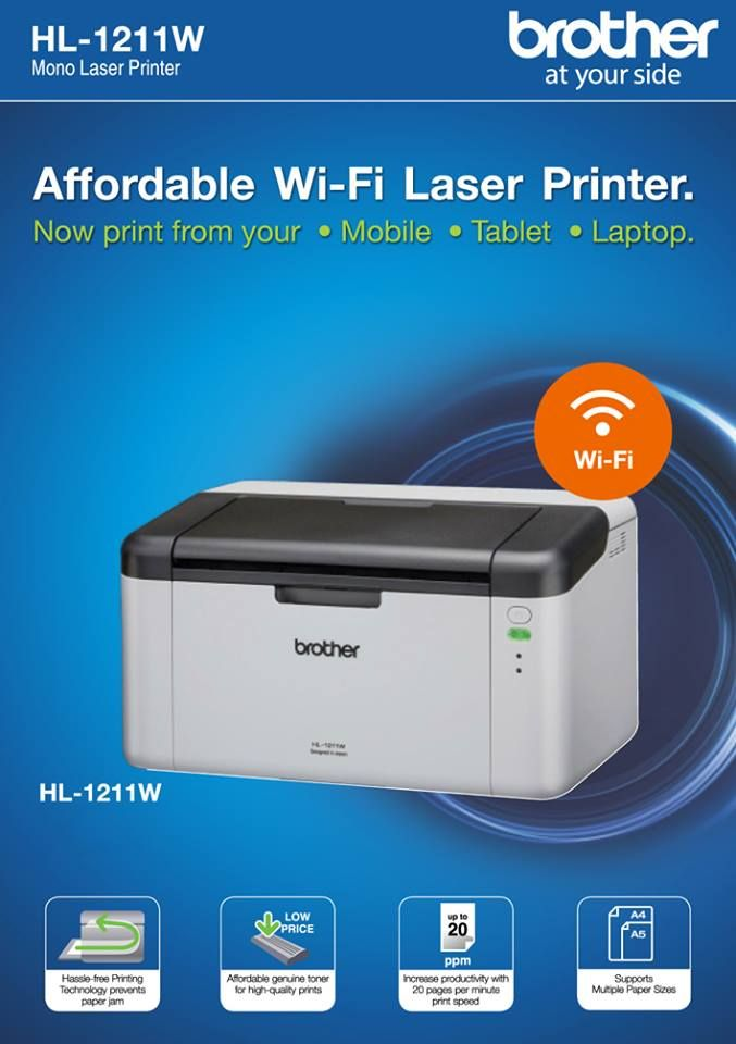 printer brother hl-1211w - Oiffel