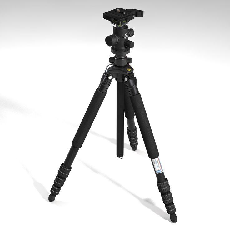 Cinema4d Giottos Tripod - 3D Model