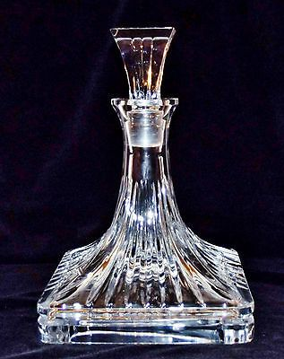 Waterford Crystal Ships Decanter - Rare & Impressive