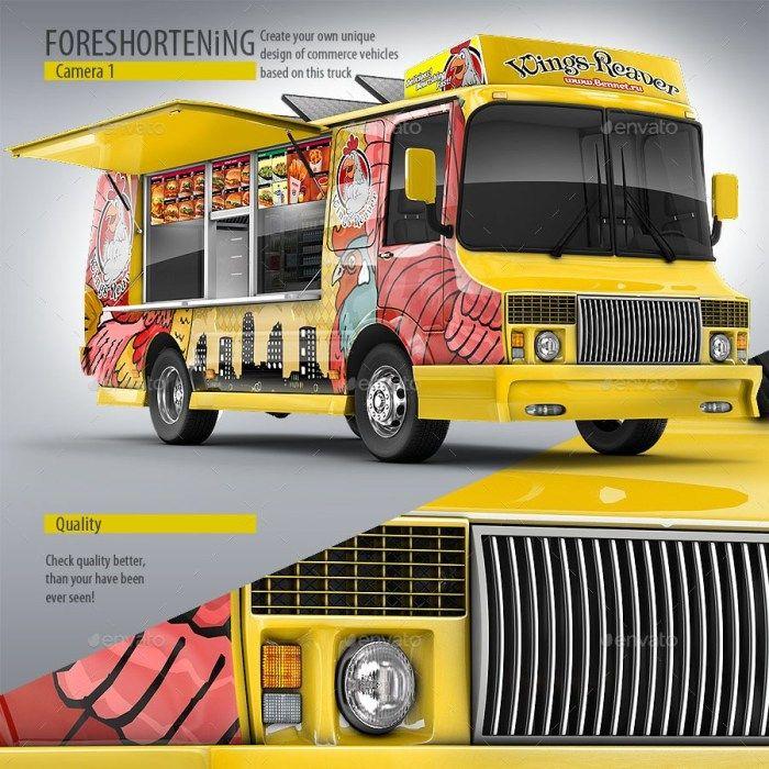 50 Truck Mockup Psd For Trucks Branding Free Premium Downloads Trucks Branding Cool Trucks