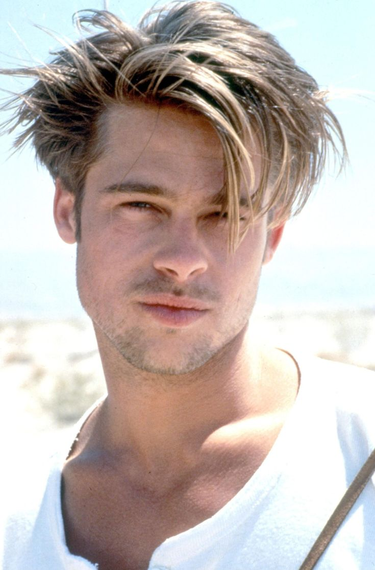 Hair Hairadvisor Bradpitt Brad Pitt Pinterest Us