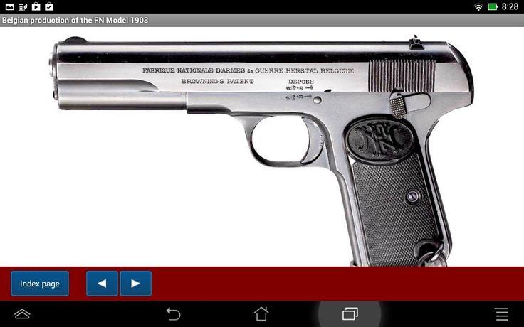 FN pistol Model 1903 explained - Android APP - HLebooks.com