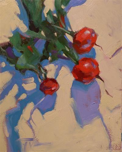 "Daily Paintworks - ""Radish Rustle"" by Jennifer Evenhus"