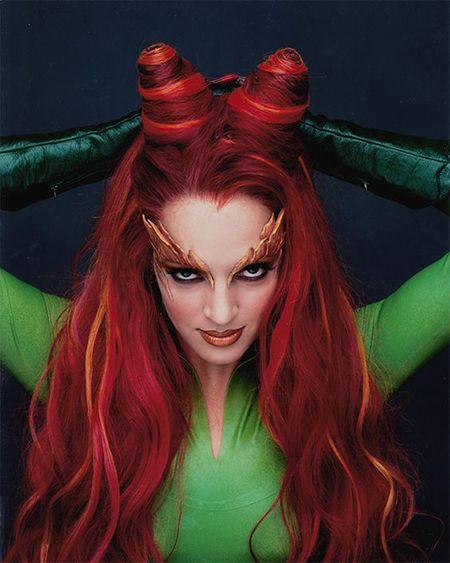 Logra el look de Poison Ivy. #Halloween #Costume #Makeup