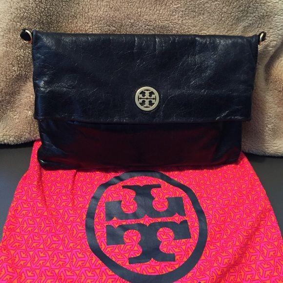Tory Burch Bags - Tory Burch 'Dena' Foldover Crossbody Bag / Clutch