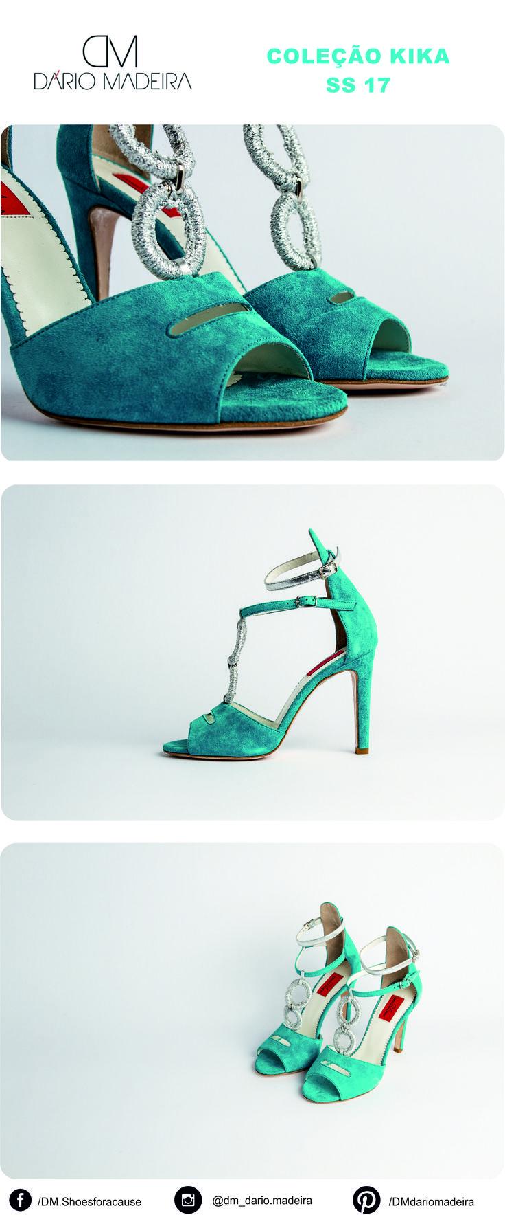 Sandália - Linha Kika | SS17 | DM - Dário Madeira  Sapato de Senhora | Shoes for a cause | Calçado Português | Portuguese Shoes | Made In Portugal